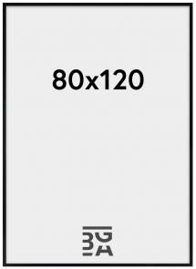Amanda Box Pleksiglass Svart 80x120 cm