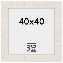Home Hvit 40x40 cm