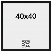 Amanda Box Svart 40x40 cm