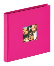 Fun Album Rosa - 18x18 cm (30 Svarte Sider / 15 ark)
