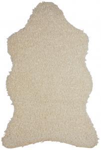 Skinn Ludde - Offwwhite 60x110 cm