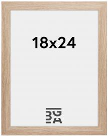 Ramme Stilren Akrylglass Eik 18x24 cm