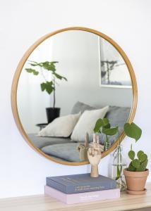 Speil Bambus 80 cm Ø