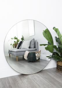 Speil Antikk Messing 110 cm ø