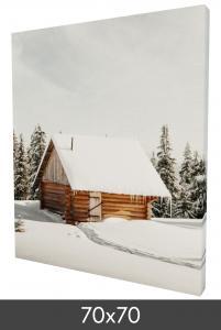 Canvasbillede 70×70 cm - 18 mm