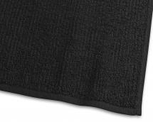 Håndkle Stripe Frotté - Svart 50x70 cm