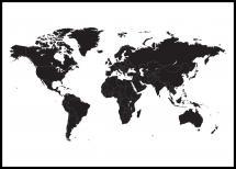 Verdenskart Svart