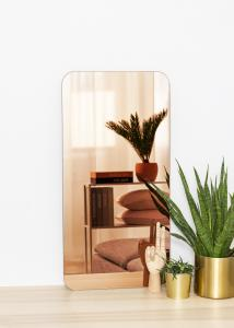 KAILA Speil Rectangle Rose Gold 40x80 cm