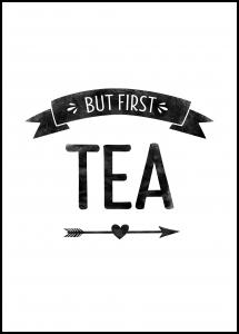 But first tea Retro