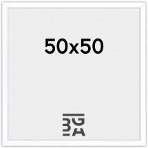 Amanda Box Hvit 50x50 cm