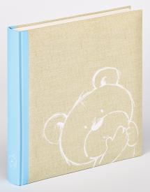 Dreamtime Blå - 28x30,5 cm (50 Hvite sider)