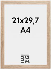 Ramme Stilren Akrylglass Eik 21x29,7 cm (A4)