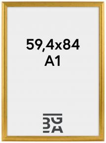 Ramme Västkusten Gull 59,4x84 cm (A1)