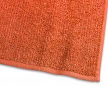 Gjestehåndkle Stripe Frotté - Oransje 30x50 cm