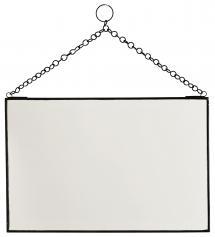 Speil Brick Svart 30x20 cm
