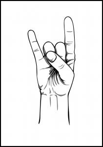 rocknroll Plakat