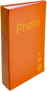 ZEP Fotoalbum Oransje - 402 Bilder i 11x15 cm