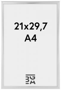 PosterrammeSølv 21x29,7 cm (A4)