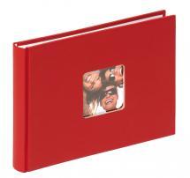 Fun Rød - 22x16 cm (40 Hvite sider)