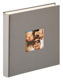 Fun Design Grå - 30x30 cm (100 Hvite sider / 50 ark)