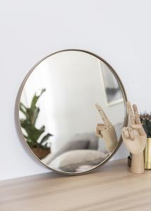 Speil House Doctor Reflektion Antikk Messing 40 cm Ø