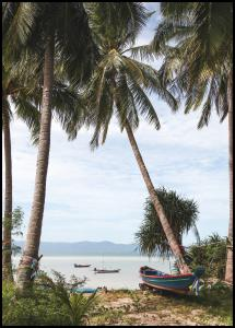 Boats In Thailand Plakat