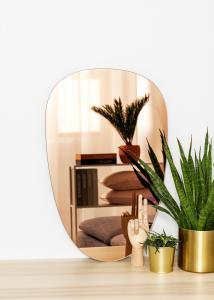 KAILA Speil Shape II Rose Gold 45x70 cm