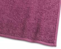 Badehåndkle Stripe Frotté - Syren 65x130 cm