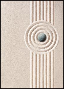 Circle Sand Plakat