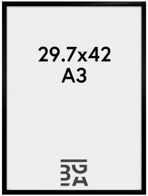 Visby Pleksiglass Svart 29,7x42 cm (A3)