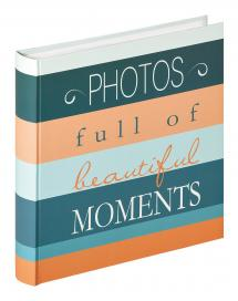 Moments Photos - 30x31 cm (100 Hvite sider / 50 ark)