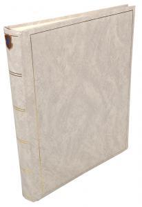 Henzo Basic Line Hvit - 30x36 cm (80 Hvite Sider / 40 Ark)