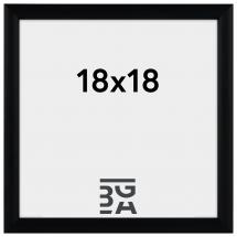 Newline Svart 18x18 cm
