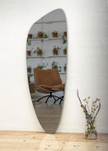 Speil Slim Warm Grey 160x57 cm
