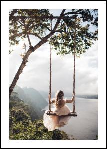 Swing with a View Plakat