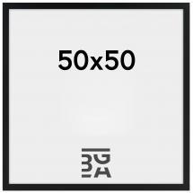 Amanda Box Svart 50x50 cm