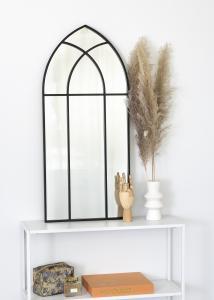 KAILA Speil Window - Svart 45x100 cm