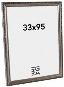 Abisko Sølv PS288 33x95 cm