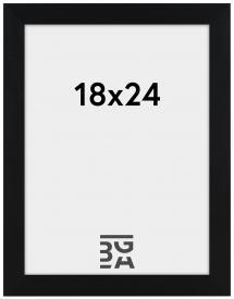 Amanda Box Svart 18x24 cm