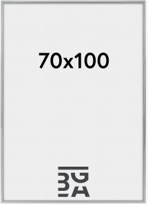Nielsen Premium Alpha Blank Sølv 70x100 cm