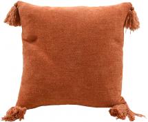 Putevar Tassle - Orange 45x45 cm