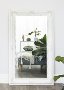Speil Palermo Hvit 66x126 cm