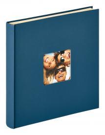 Fun Selvklebende Blå - 33x34 cm (50 Hvite sider / 25 ark)