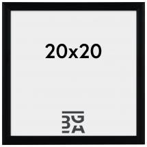 Newline Svart 20x20 cm