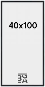 Stilren Pleksiglass Svart 40x100 cm