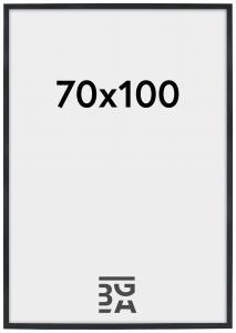 Stilren Pleksiglass Svart 70x100 cm