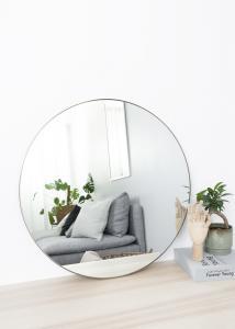 Speil Antikk Messing 70 cm ø
