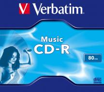 Verbatim CD-R 80 min / 700MB - Jewel Case