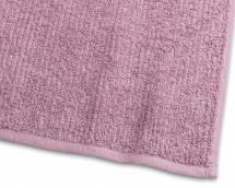 Badehåndkle Stripe Frotté - Rosa 65x130 cm