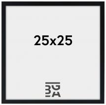 Edsbyn Svart 2E 25x25 cm